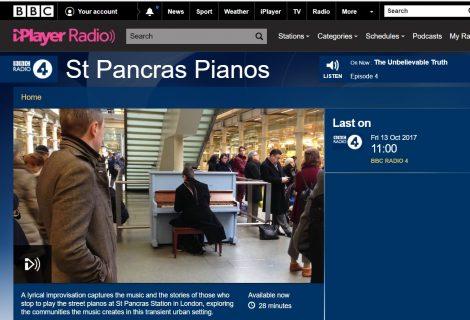 St Pancras Pianos on Radio 4