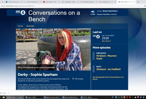 Conversations on a Bench, BBC Radio 4